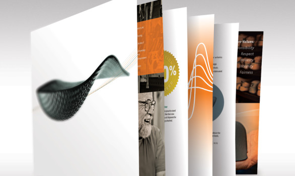 Catalog graphic design